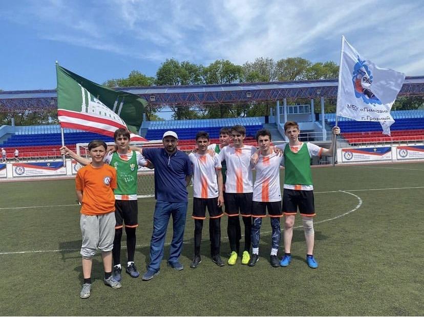 Спортклуб грозненской гимназии победил  во Всероссийских спортивных играх